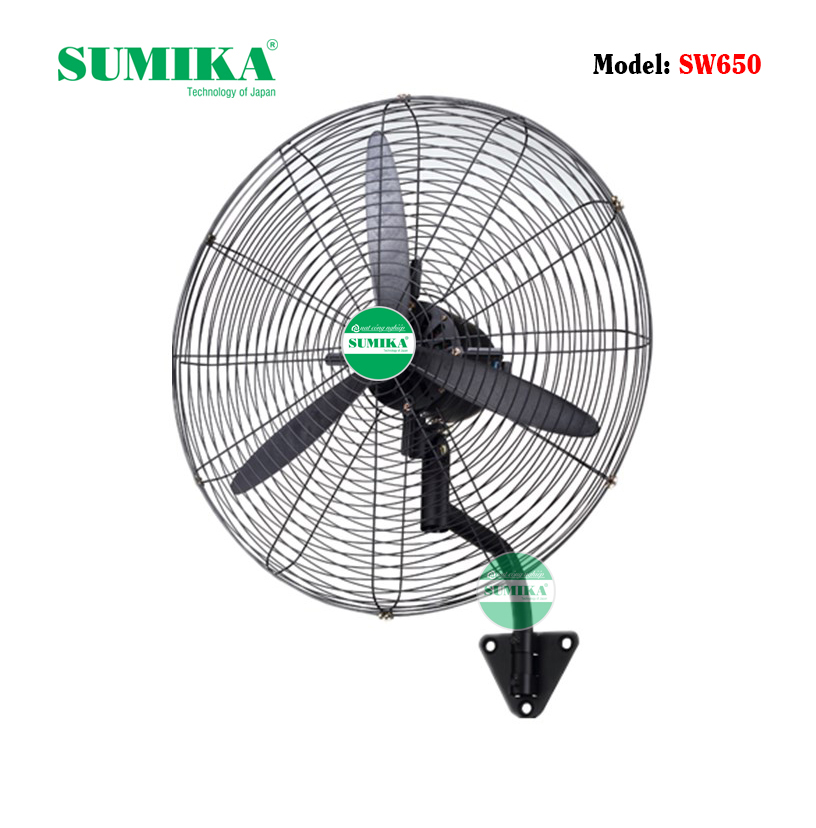 Kết quả hình ảnh cho Quạt treo tường công nghiệp Sumika SW650